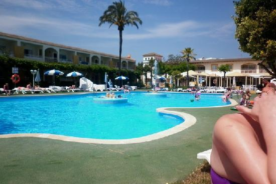 Mariner Club View Of Pool From Our Sunbeds