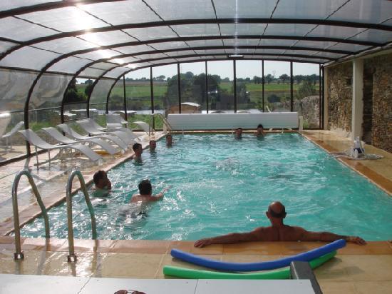 Les Roulottes du Moulin: la piscine