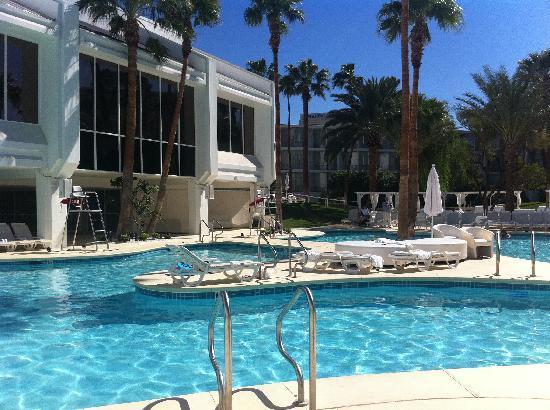 Tropicana Las Vegas - A DoubleTree by Hilton Hotel: Lazing by the pool