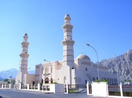 Khasab, Umman: Die Moschee ist für Touristen leider nicht zugänglich