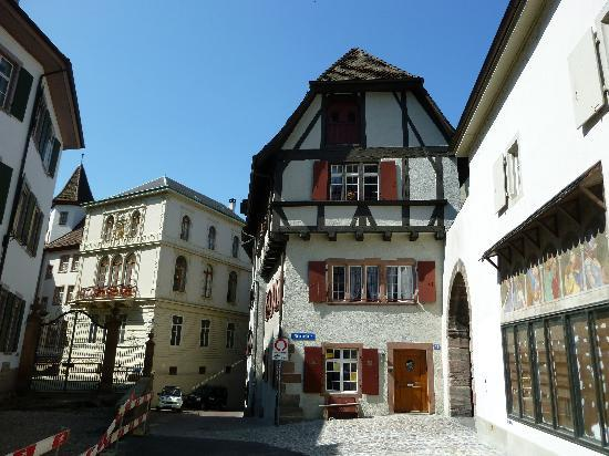 Basilea, Svizzera: House at Münsterplatz