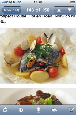 Cafe Cru Restaurant: beautiful sea bream