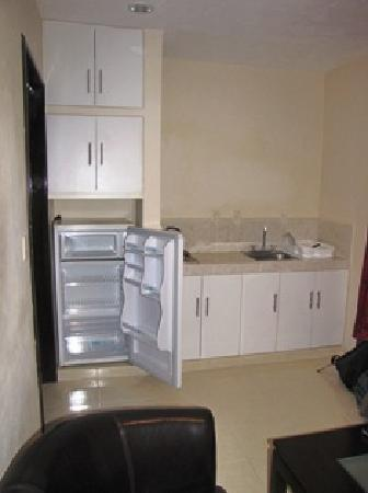 hotel nadet suites: Kitchen