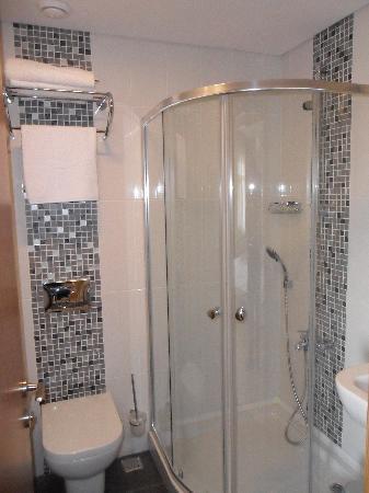 Aura Apart Hotel : Shower