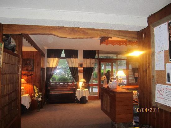 Brides-les-Bains, Francia: accueil de l'hôtel