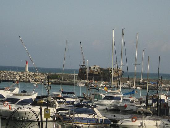 Bistro del Puerto: une autre vue de la terace du Bistro