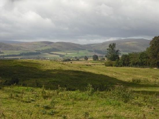 Northumberland National Park, UK: Northumberland in the sunshine