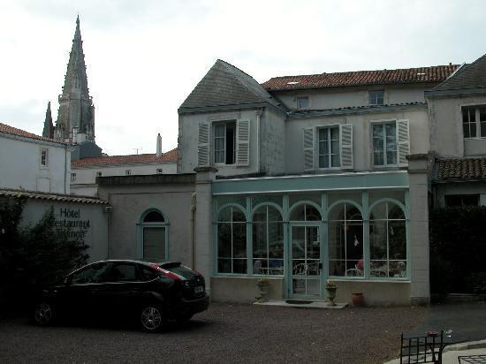 Hotel Trianon et de la Plage : Vèranda