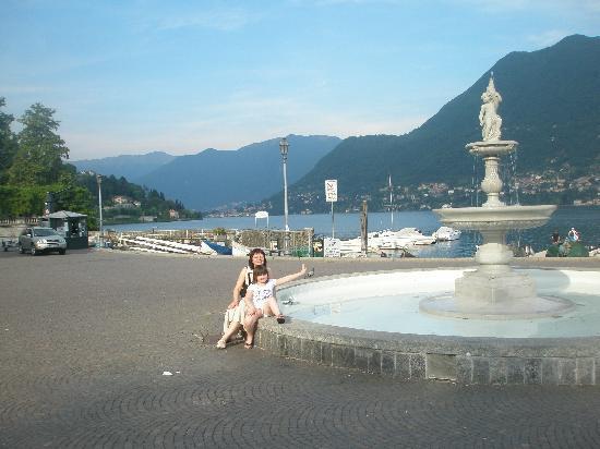 Albergo Ristorante Giardino: the famous lakeside square