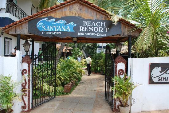ซานทานา บีช รีสอร์ท: Entereance of this lovely resort