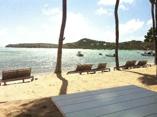Grand Cul-de-Sac, St. Barthelemy: Le sereno - beach