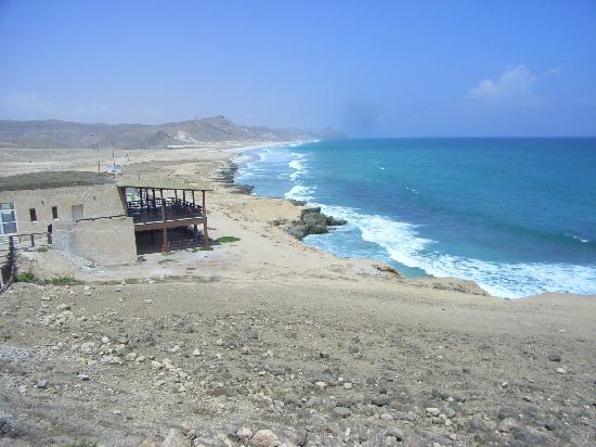 Salalah, Omán: Grandiose Küstenlandschaft am Strand von Mughsail