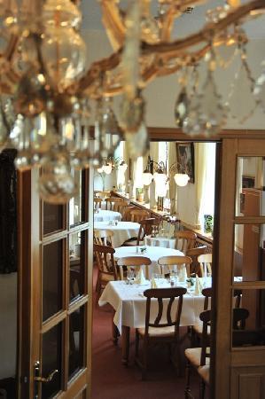 Landhotel Herrenhaus Bohlendorf: Blick in das Restaurant