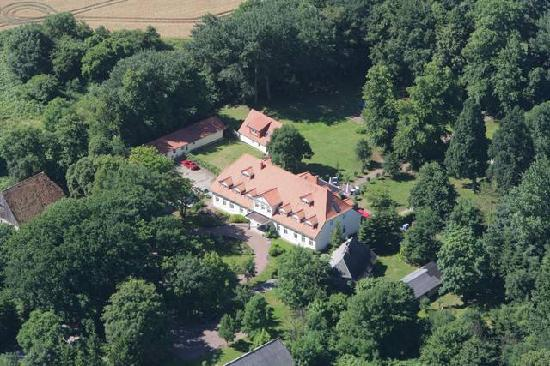 Landhotel Herrenhaus Bohlendorf : Luftbild