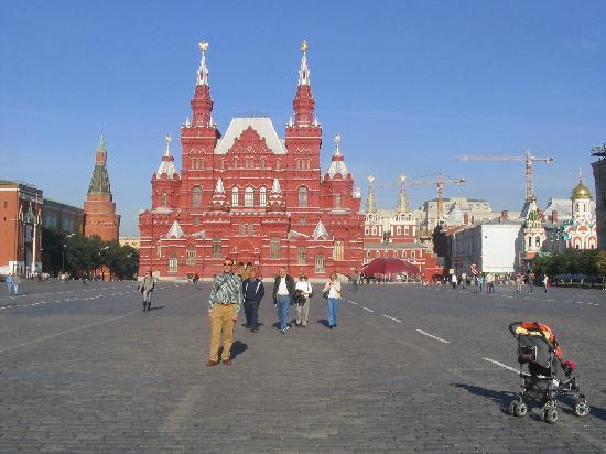 Rússia: Plaza roja de Moscu...