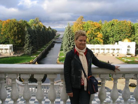Rússia: Palacio de verano en san Petersburgo de Pedro el grande, una belleza..