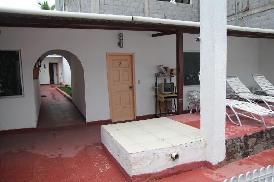 Hostel 10-28: the room door