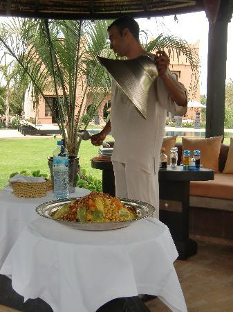 Villa Malika Silvana : Lunch is served