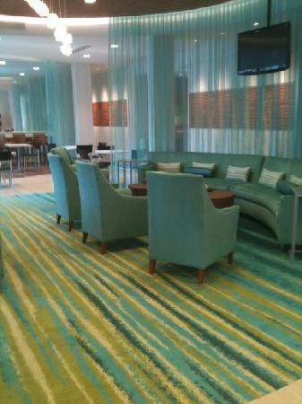 SpringHill Suites Houston The Woodlands : Beautiful lobby!!