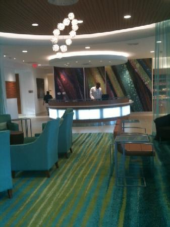 SpringHill Suites Houston The Woodlands : Gorgeous front desk, with amazing team.