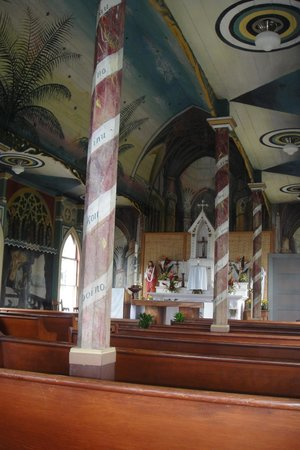 The Painted Church: Inside the church
