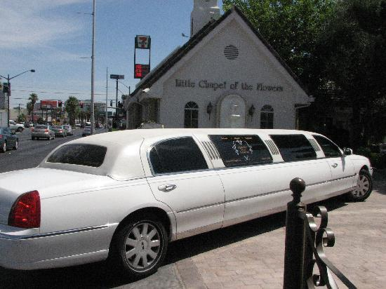 Limo picture of chapel of the flowers las vegas tripadvisor chapel of the flowers limo mightylinksfo