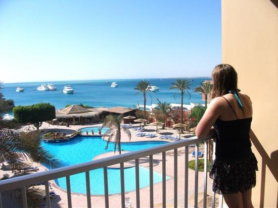 Hurghada Marriott Beach Resort : view from our room :)