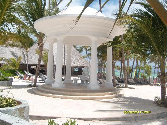 Barcelo Bavaro Palace : Gazebo 4 Wedding