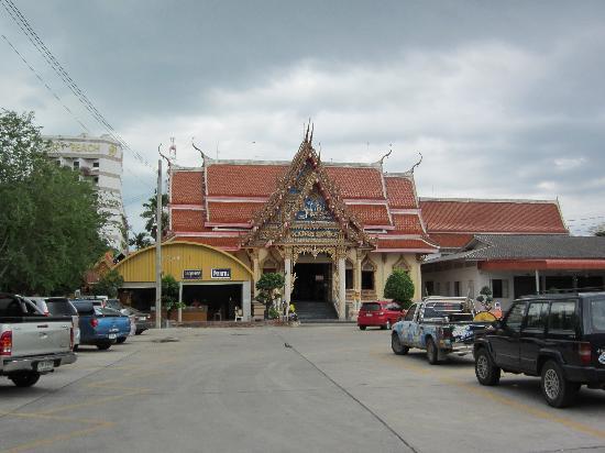 Hua Hin, Thaïlande : Ein Tempel im Stadtzentrum