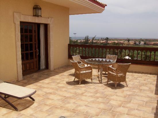 Hotel Elba Palace Golf: Dachterasse
