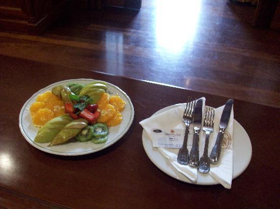Hotel Elba Palace Golf: Fruchtteller