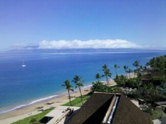 Royal Lahaina Resort: View towards Kahana from floor 11