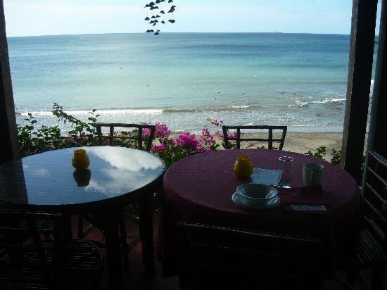 Sereia do Mar: vista desde una de las mesas