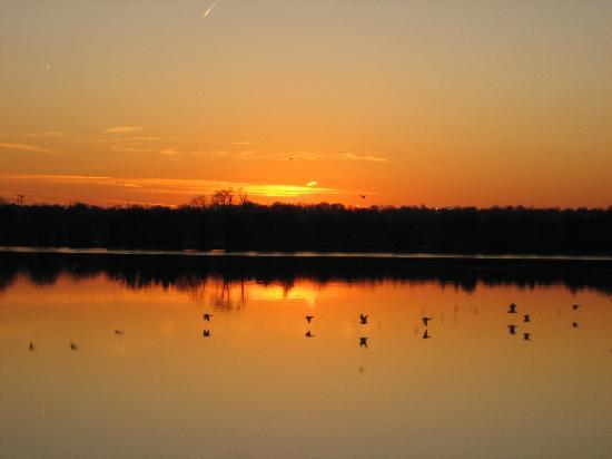 Jefferson Memorial: Sunset View