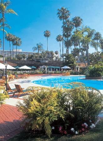 Town and Country Resort & Convention Center: Pool side at the Town and Country