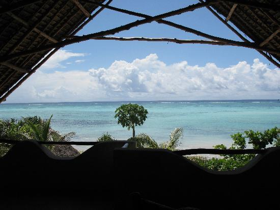 The Zanzibari: The balcony looking out