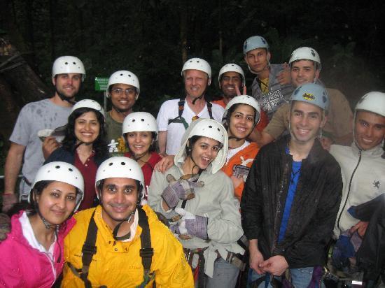 Odyssey Tours Jaco : ziplining in selvatura monteverde