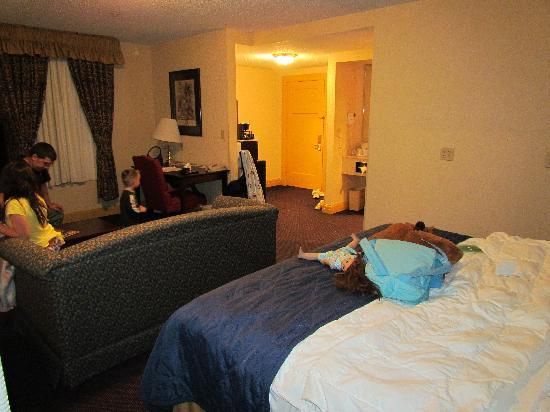 Clarion Hotel Morgan : king rooom