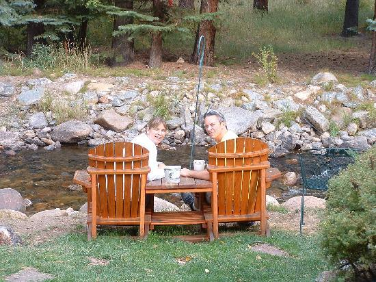 River Stone Resort and Bear Paw Suites: right outside our door