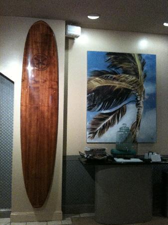 Aqua Aloha Surf Waikiki: エレベーターホール