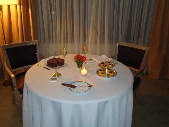 L'Hotel PortoBay Sao Paulo: Pequena Surpresa preparada pela Guest Relations