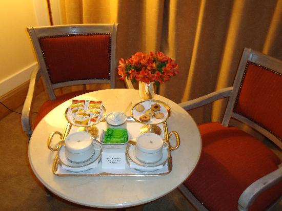 L'Hotel PortoBay Sao Paulo: Mesa de Chá