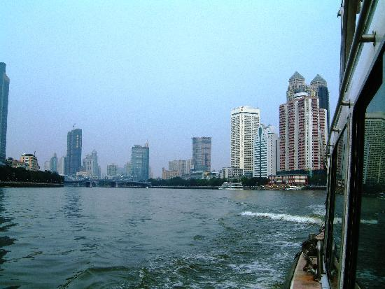 Guangzhou, China: View from the Pearl River Ferry