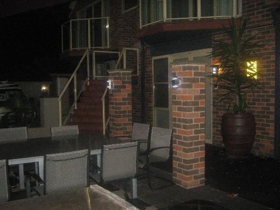 Jesmond Executive Villas: bbq area