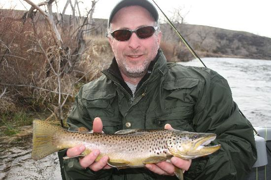 Montana Fishing Outfitters: My Biggest Brown ever
