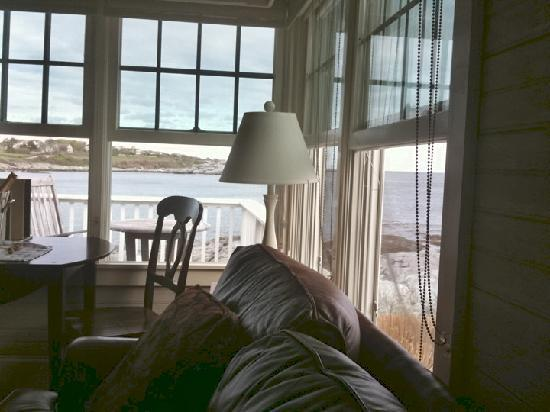 Castle Hill Inn: View from inside your house