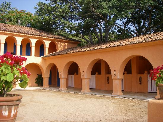 Careyes, Mexico: Beautiful horse stables with incomparable riding