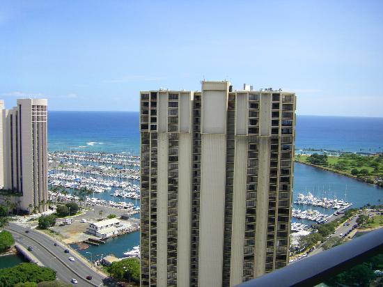 Ala Moana Hotel View From Lanai Waikiki Tower Ocean Room