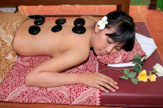 Bali Green Spa: Hot Stone Massage