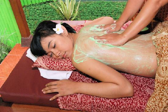 Bali Green Spa: Green Tea Body scrub